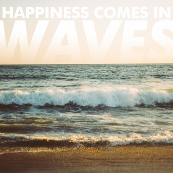 Beach Sayings: Waves 12 x 12 Paper