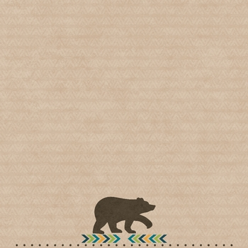 Bear Tribe: Brother Bear 12 x 12 Paper