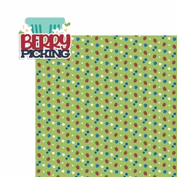 Berrylicious: Berry Picking 2 Piece Laser Die Cut Kit