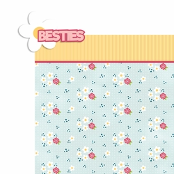 Best Friend: Besties 2 Piece Laser Die Cut Kit
