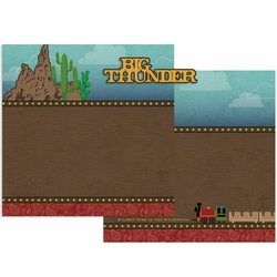 Big Thunder Double Page Layout Kit