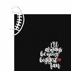 Biggest Fan Football Page Layout