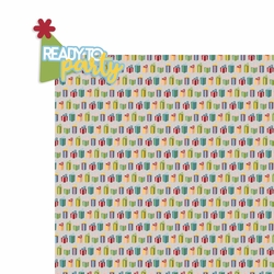 Birthday Wishes: Ready to Party 2 Piece Laser Die Cut Kit