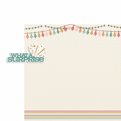 Birthday Wishes: Surprise 2 Piece Laser Die Cut Kit