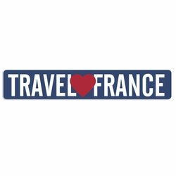 Bonjour: Travel France Laser Die Cut
