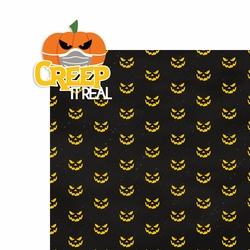 Boo Crew: Creep it Real 2 Piece Laser Die Cut Kit