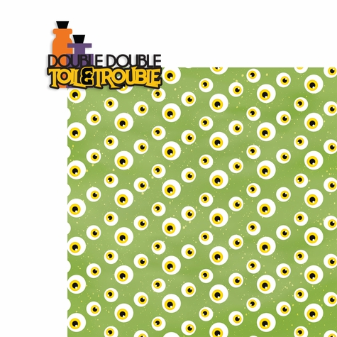 Boo Crew: Toil and Trouble 2 Piece Laser Die Cut Kit