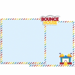 Bounce House Double Page Layout Kit