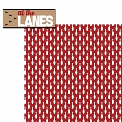 Bowling: At the Lanes 2 Piece Laser Die Cut Kit