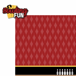 Bowling: Bowling Fun 2 Piece Laser Die Cut Kit
