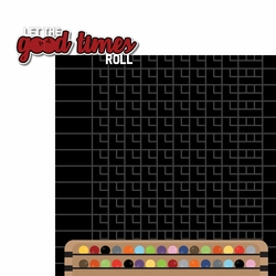 Bowling: Let the Good Times Roll 2 Piece Laser Die Cut Kit