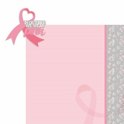 Breast Cancer: In October 2 Piece Laser Die Cut Kit