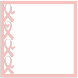 Breast Cancer: Pink Ribbon 12 x 12 Paper