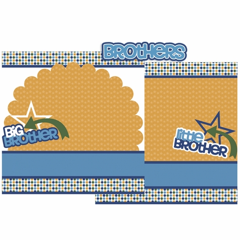Brothers Double Page Layout Kit