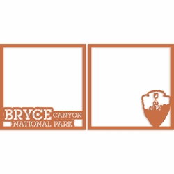 Bryce Canyon 12 x 12 Overlay Laser Die Cut