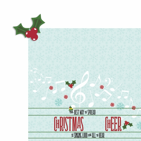 Buddy the Elf: Christmas Cheer 2 Piece Laser Die Cut Kit