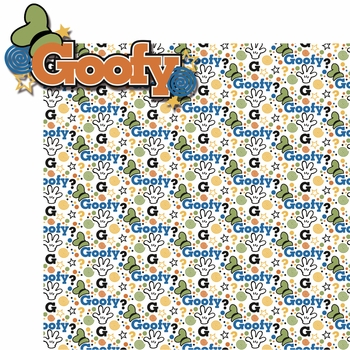 Buncha Character: Goofy 2 Piece Laser Die Cut Kit