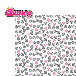 Bunco 2 Piece Laser Die Cut Kit