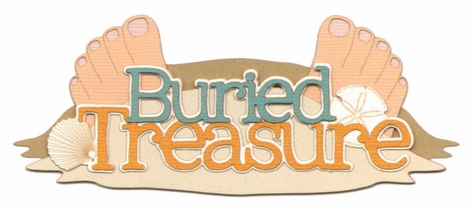 Buried Treasure Laser Die Cut