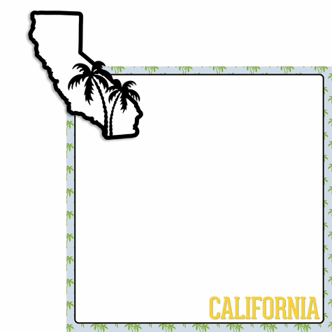 California 2 Piece Laser Die Cut Kit