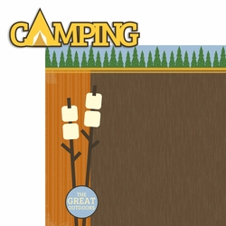 Camping Page Layout