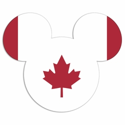 Canada mouse head Laser Die Cut