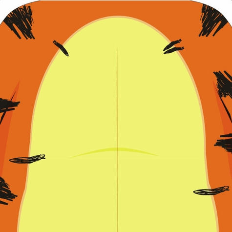 Character:Bouncy Tiger 12 x 12 Paper