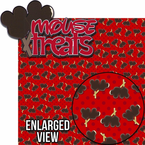 Character Dining: Mouse Treats Laser Die Cut Kit