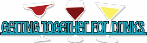 2SYT Cheers: Getting Together For Drinks Laser Die Cut
