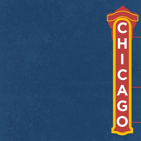 Chicago: Better In Chicago 12 x 12 Paper