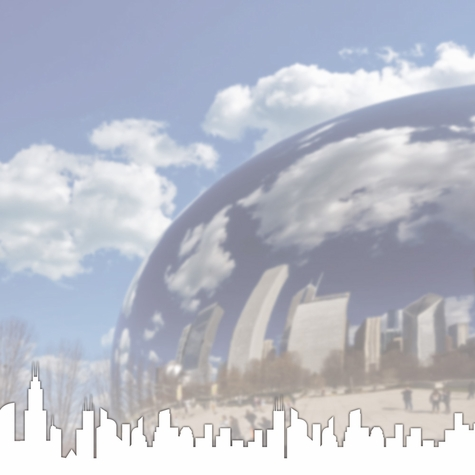 Chicago: The Bean 12 x 12 Paper