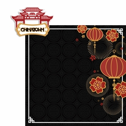 China Town 2 Piece Laser Die Cut Kit