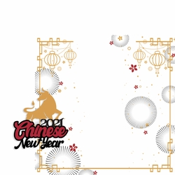 Chinese New Year: Chinese New Year 2 Piece Laser Die Cut Kit