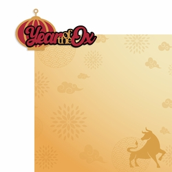 Chinese New Year: Year of the Ox 2 Piece Laser Die Cut Kit