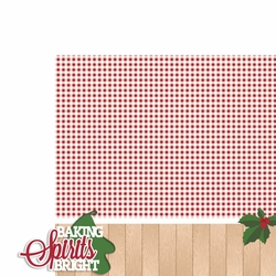 Christmas Baking: Baking Spirits 2 Piece Laser Die Cut Kit