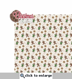 Christmas Baking: Christmas Calories 2 Piece Laser Die Cut Kit