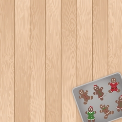 Christmas Baking: Cookie Tester 12 x 12 Paper