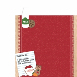 Christmas Baking: Dear Santa 2 Piece Laser Die Cut Kit