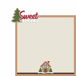 Christmas Baking: Sweet Memories 2 Piece Laser Die Cut Kit