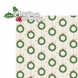 Christmas Cheer: Christmas Morning 2 Piece Laser Die Cut Kit