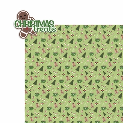 Christmas: Christmas treats 2 Piece Laser Die Cut Kit
