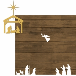 Christmas Faith: Nativity 2 Piece Laser Die Cut Kit