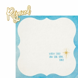 Christmas Faith: Rejoiced 2 Piece Laser Die Cut Kit