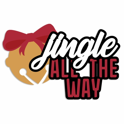 Christmas: Jingle all the Way Laser Die Cut