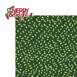Christmas: Merry and Bright 2 Piece Laser Die Cut Kit