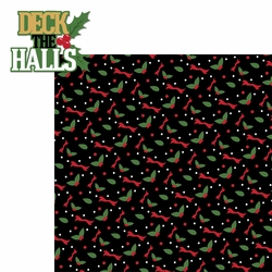 Christmas Songs: Deck the Halls 2 Piece Laser Die Cut Kit