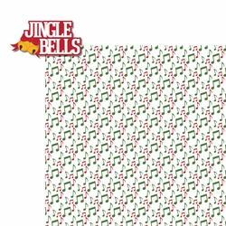 Christmas Songs: Jungle Bells 2 Piece Laser Die Cut Kit