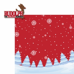 Christmas Songs: Rudolph 2 Piece Laser Die Cut Kit