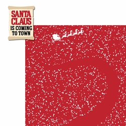 Christmas Songs: Santa Claus 2 Piece Laser Die Cut Kit