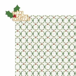 Christmas: The joy of the season 2 Piece Laser Die Cut Kit